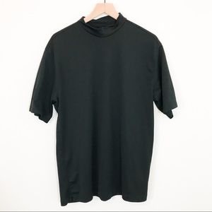 Black Nike Fit Dry Golf T Shirt size Large